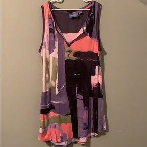 Colorful Vera Wang Shirt - Size Medium